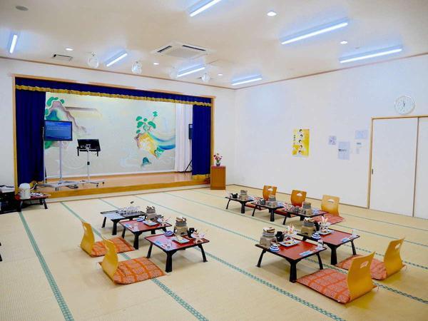 【祝の間】『30畳』『お座席・テーブル選択可』『会議室としても使用可』