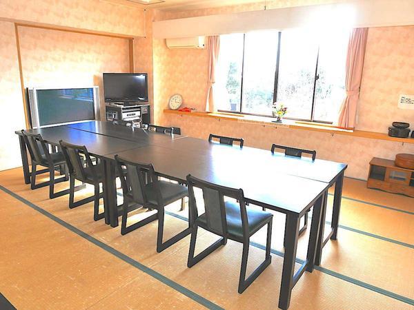 【鶴の間】『18畳』『お座席テーブル選択可』『会議室可』
