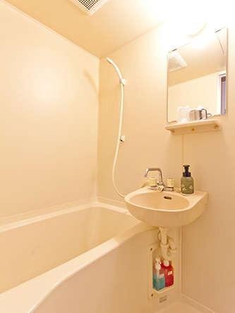 バストイレ付のお部屋タイプの浴室『シャンプー・リンス・ボディソープあり』