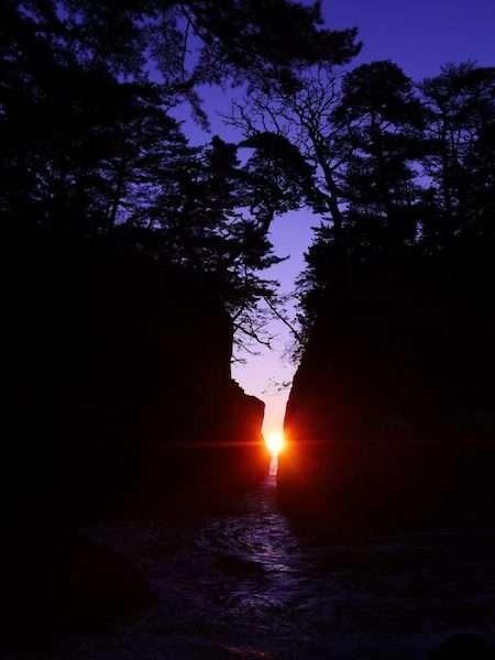 【神割崎】全国の「白砂青松百選」にも選ばれている『景勝地』となっております。
