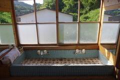 二階にある手洗い場