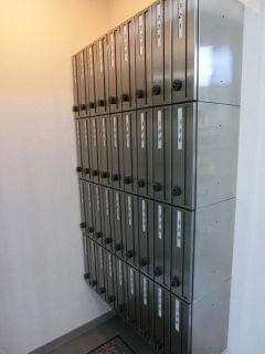 集合郵便受け:長期宿泊者様ご利用可能です。